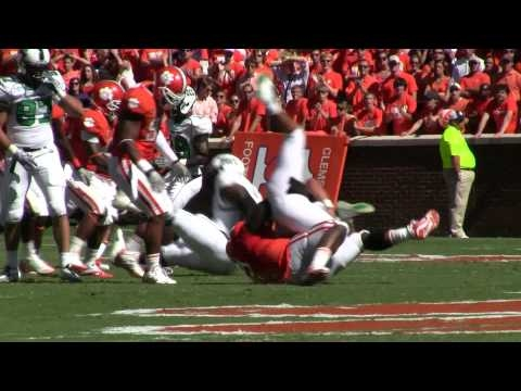 Jarvis Jenkins with a sack versus North Texas