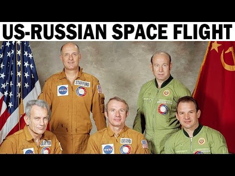 First U.S.-Russian Joint Space Flight | Apollo-Soyuz Mission | NASA Documentary | 1975