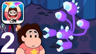 ATTACK THE LIGHT Steven Universe Walkthrough Gameplay Part 2 - Indigo Prism Boss (iOS Android)