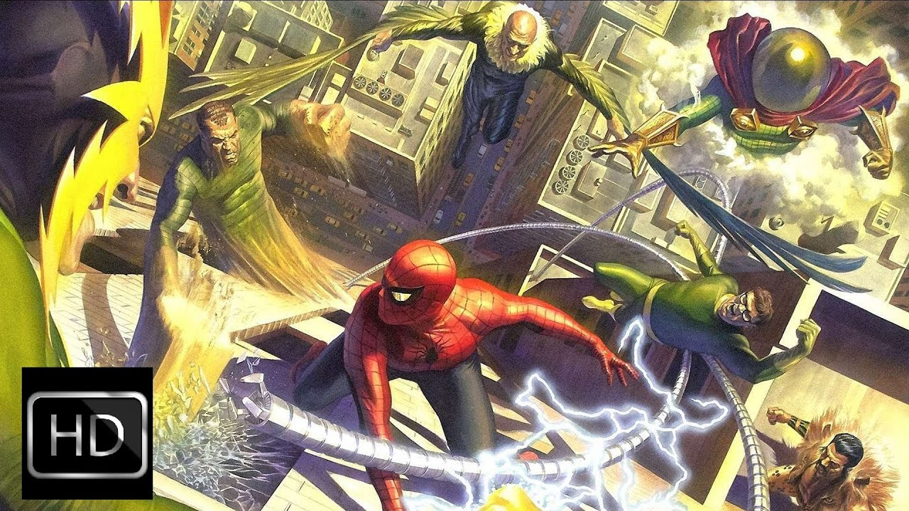 spiderman vs electro