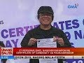 27 personalidad, naghain kahapon ng certificate of candidacy sa pagkasenador