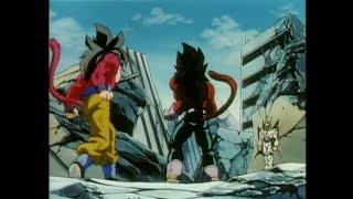 DRAGON BALL GT: goku e vegeta ssj4 contro omega shenron-in italiano