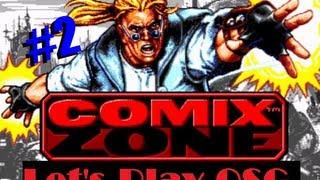 Прохождение Комикс Зона #2 (Comix Zone)