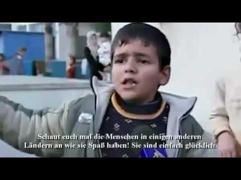 Ein 9 Jähriger junge und doch kein Kind mehr!!! (Free Gaza & Palästina)