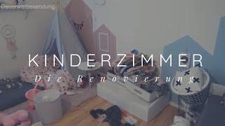 Kinderzimmer RENOVIEREN | Geschwister zimmer 18qm | Alles NEU