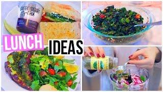 3 SIMPLE & HEALTHY LUNCH IDEAS! Nikkiphillippi
