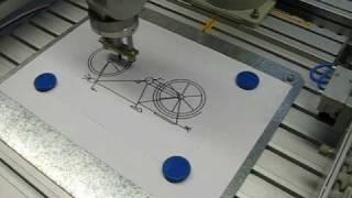 Mitsubishi RV-2AJ @ FH Coburg: Drawing A Bicycle