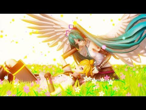 【MMD PV】ココロ  Kokoro - Hatsune Miku ・Kagamine Len (English / Romaji Sub)
