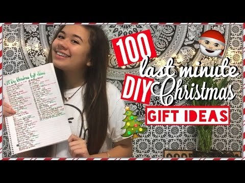 100 DIY LAST MINUTE CHRISTMAS GIFT IDEAS | FOR EVERYONE: FAMILY, BOYFRIEND, GIRLFRIEND, PET, ETC.