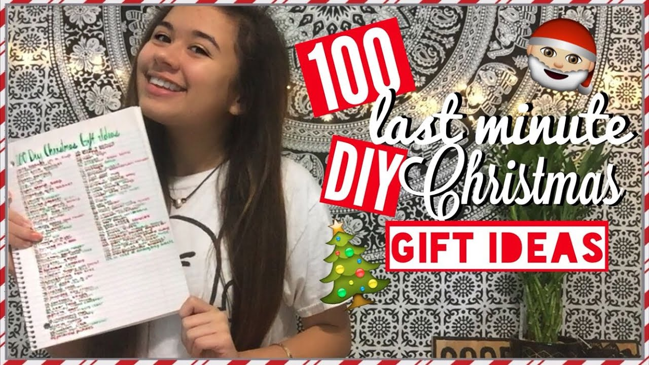 100 DIY LAST MINUTE CHRISTMAS GIFT IDEAS | FOR EVERYONE: FAMILY ...