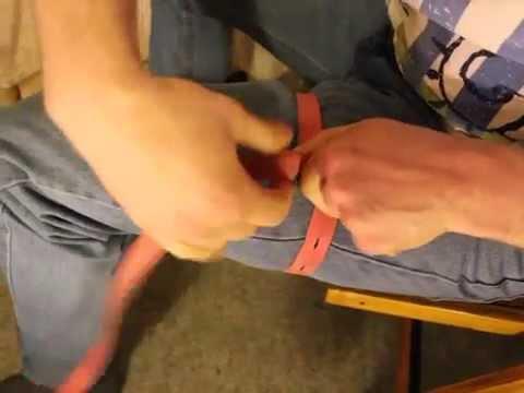 Как правильно наложить жгут