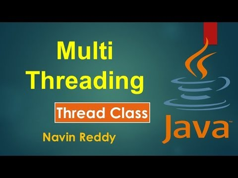 Java Tutorial | Multithreading | Thread class