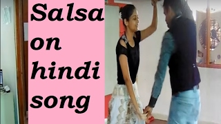 Sholon si | Salsa Dance | Rohit and Jagrati