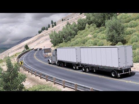 American Truck Simulator - Big Sur Landslide - Timelapse #92