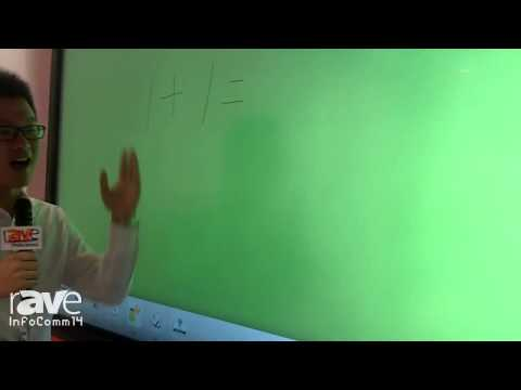 InfoComm 2014: CVT Demonstrates Smart Classroom Interactive Screen and Tablets
