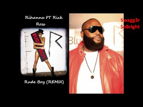 Rihanna - Rude Boy Remix FT Rick Ross (Lyrics in the description)