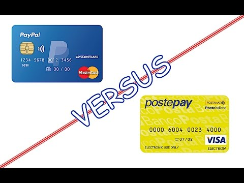 Differenze tra PAYPAL e POSTEPAY