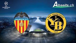 UEFA Champions League - Valencia CF vs. BSC Young Boys - Bei der Ballabgabe E010