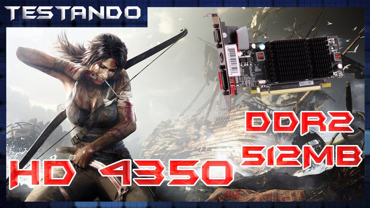 Testando - Tomb Raider - HD 4350 512MB DDR2 - Core 2 Duo E6420