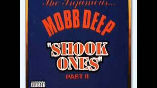 Mobb Deep- Shook Ones Part 2. Instramental W/ Lyrics.