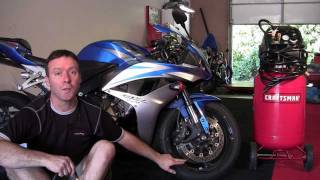 Pacific Riding School - Motorcycle Tire Pressure
