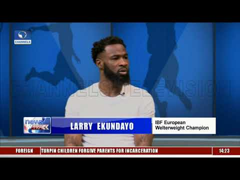 Larry Ekundayo Hopes To Defend Welterweight Title In Nigeria
