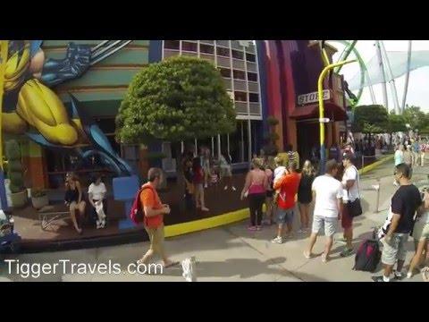 Marvel's Super Hero Island at Islands of Adventure, Universal Studios