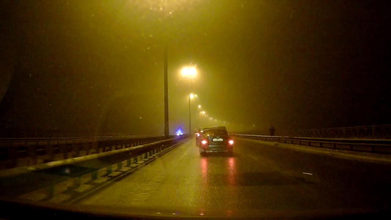 Массовое ДТП, гололед скользкая дорога на Витебском проспекте