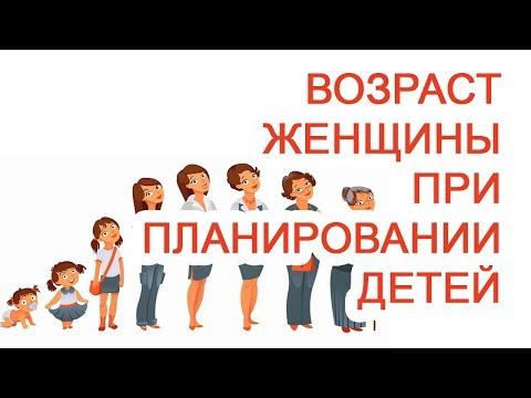 Возраст женщины при планировании детей / Доктор Черепанов
