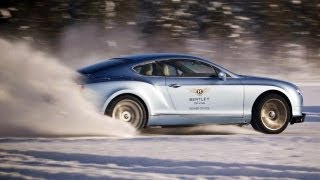 Drifting Bentleys on Ice in Finland with Rally Champions! - The J-Turn Episode 4