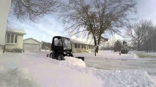 ATV plow wings and pull plow