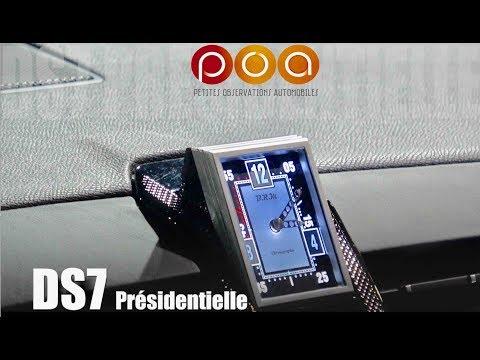 DS7 Présidentielle : tous les détails !