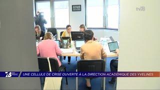 Yvelines | Coronavirus : une cellule de crise à la direction académique des Yvelines