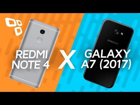 Xiaomi Redmi Note 4 vs. Samsung Galaxy A7 2017: comparativo - TecMundo