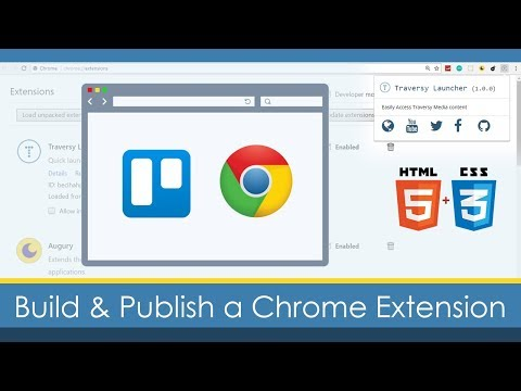 Build & Publish a Custom Google Chrome Extension