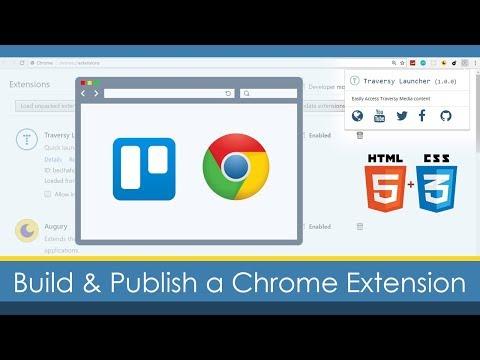 Build & Publish a Custom Google Chrome Extension Mp3