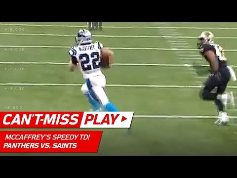 Christian McCaffrey Outruns Everyone for the TD! | Can