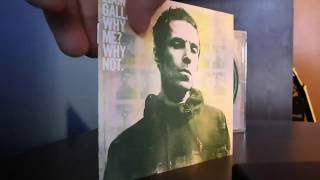 Baixar Unboxing Liam Gallagher Why Me? Why Not Compact Disc