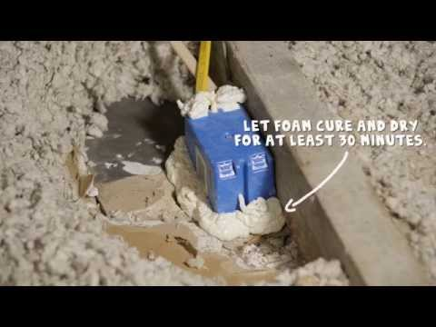 How to air seal attic electrical boxes – Rule Your Attic! With ENERGY STAR