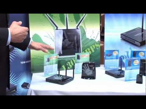 CES 2012: TRENDnet 1300Mbps Wireless 802.11ac Routers and Adapters