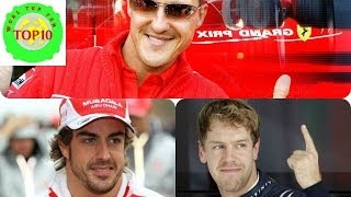 World Top 10 Most Successful Formula One Drivers