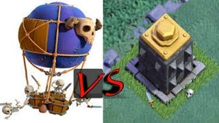 10 Max Drop ship vs Max crusher @ clash of clans