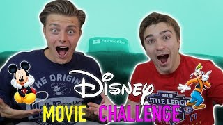 Disney vs Pixar Movie Bracket Challenge | Ft. Boston Tom