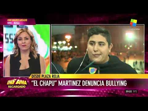 Quisieron agredir al Chapu Martínez en Rusia