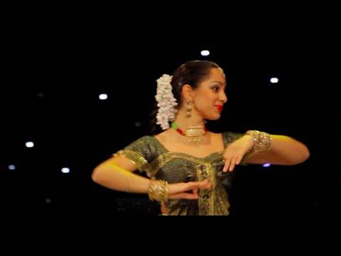 Dheem Ta Dare (Thakshak) by Svetlana Tulasi & Chakkar group (Kathak)