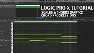 Logic pro x guitar chords