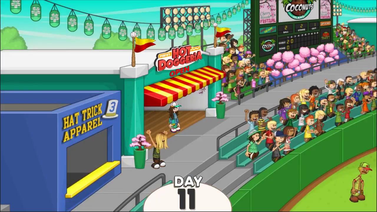 Papa's Hot Doggeria HD - Day 11 (Rank 8) - Gremmie (Wasabi Mayo ...