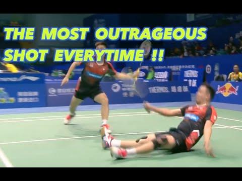 Born to Hit a Badminton TRICK SHOT - Koo Kien Keat 2016
