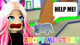 Wengie Reacts To A Stray Cat Story! The SADDEST Adopt Me Short Movie In Roblox