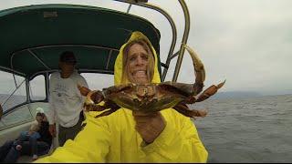 GoPro Crabbing in Washington State